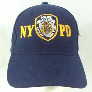 434894cc6 Kolob Accessories - NYPD Police Department Blue Strapback Cap Hat NWT